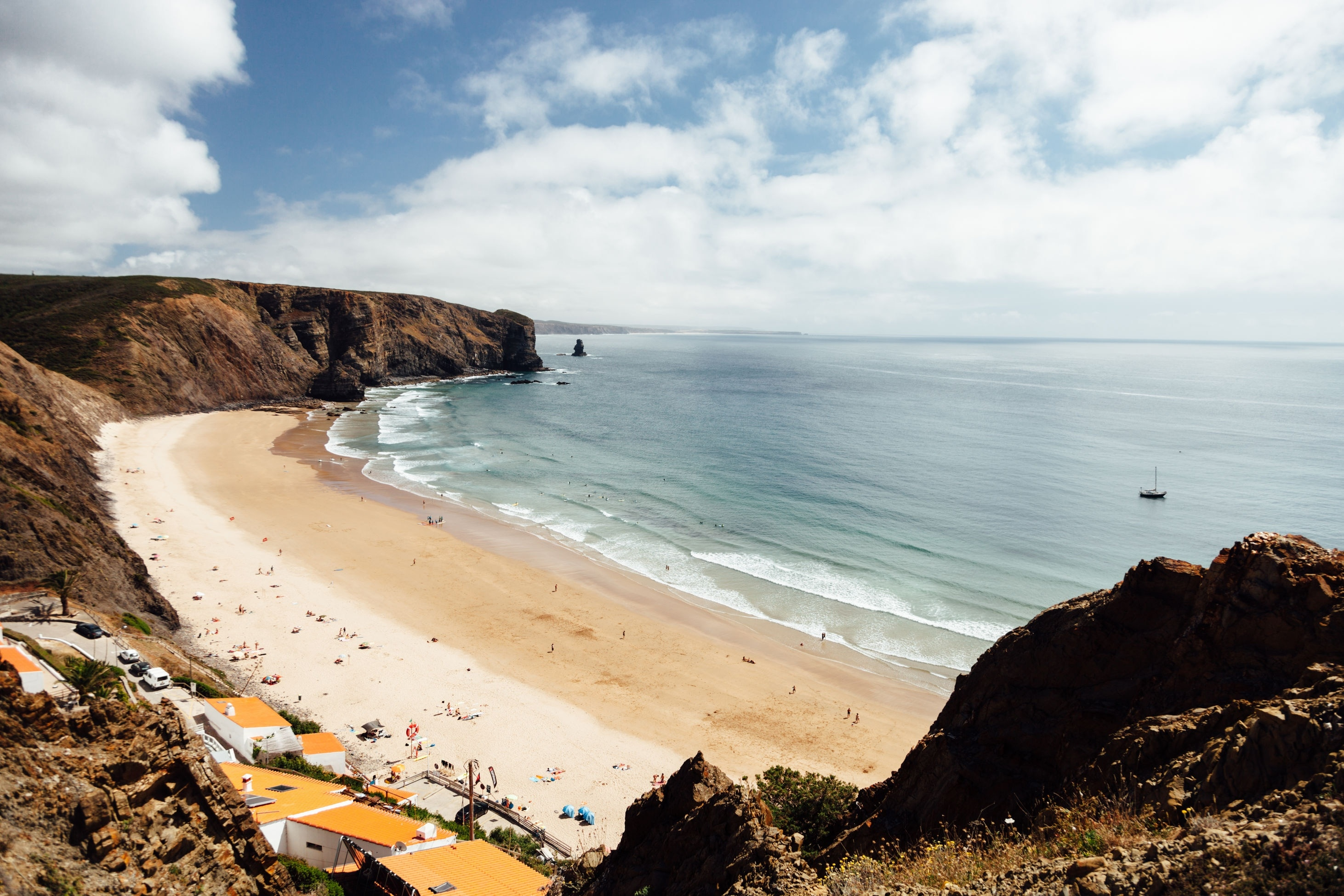 Praia da Arrifana, Aljezur, Bezirk Faro, Portugal