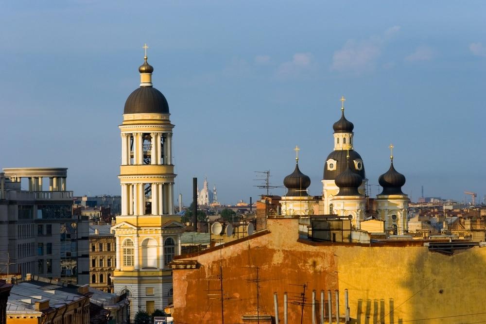 Wladimirskaja-Platz, Sankt Petersburg, Sankt Petersburg, Russland