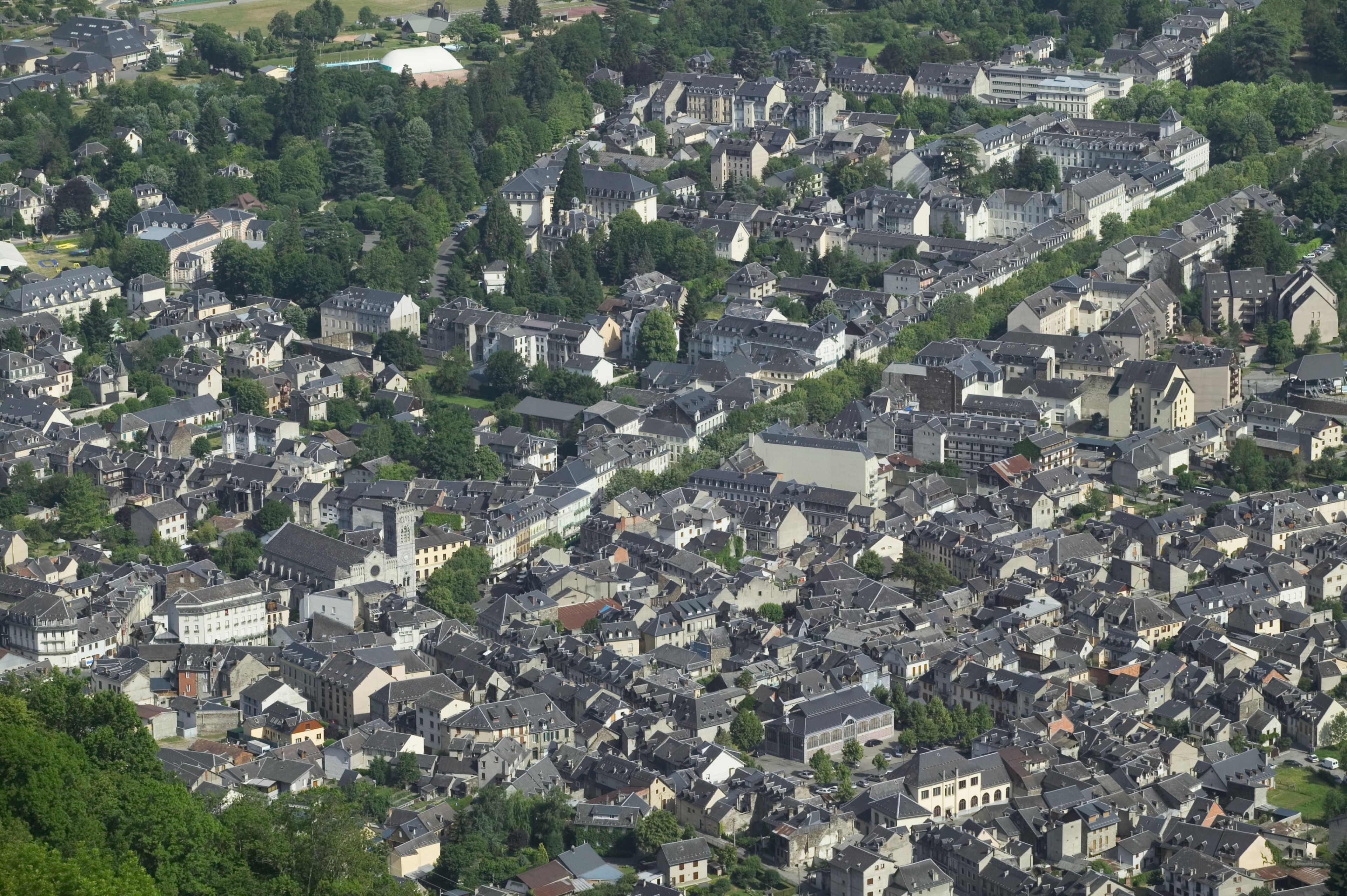 Bagneres-de-Luchon, Haute-Garonne, France