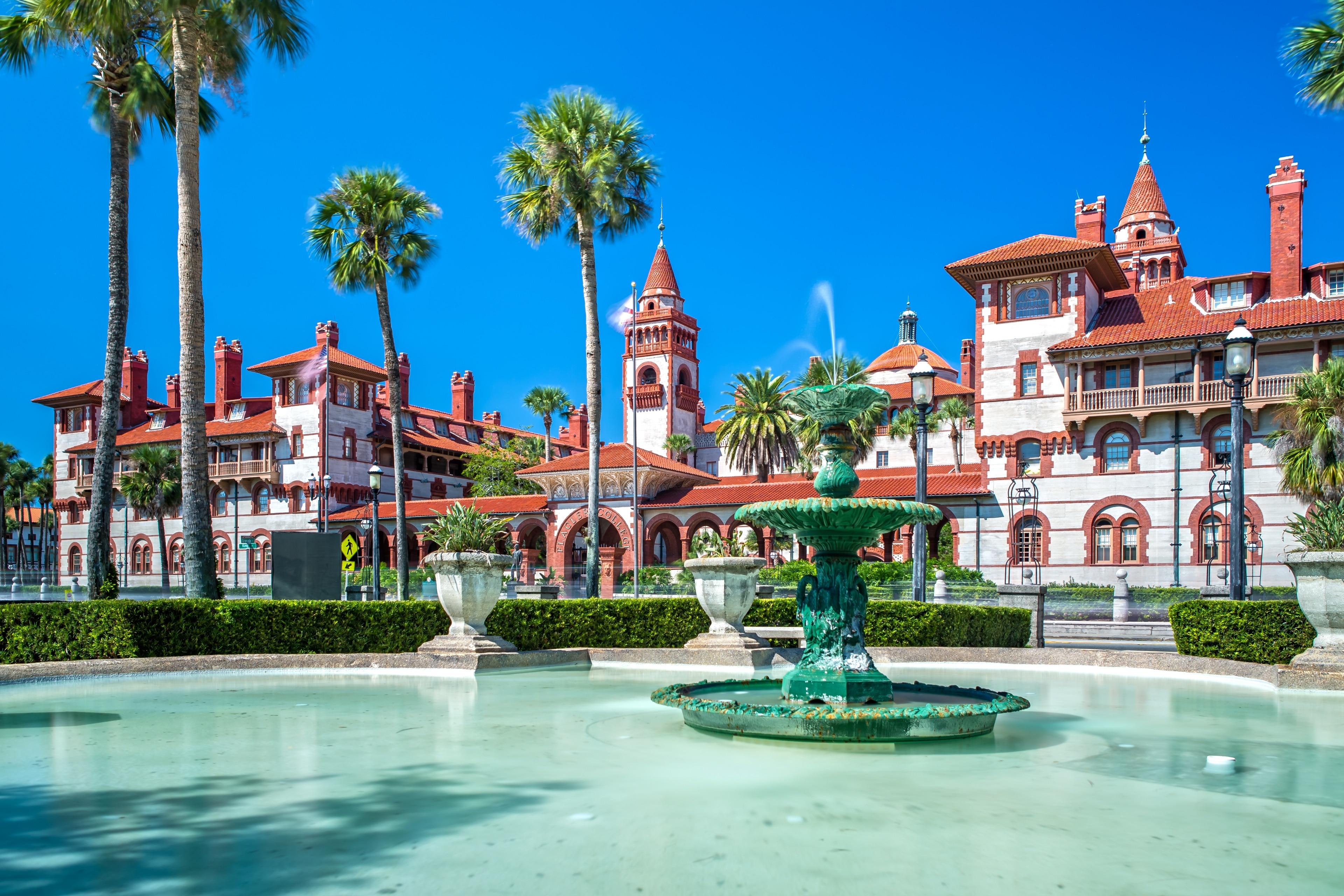 Explore the campus of Flagler College, during your trip to St. Augustine. Discover the area's fascinating museums, or seek out its local tours.