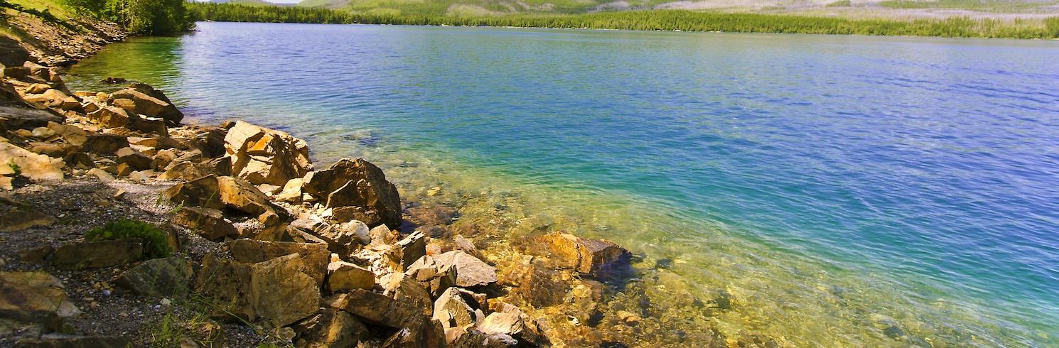 Whitefish (et environs), Montana, États-Unis d'Amérique