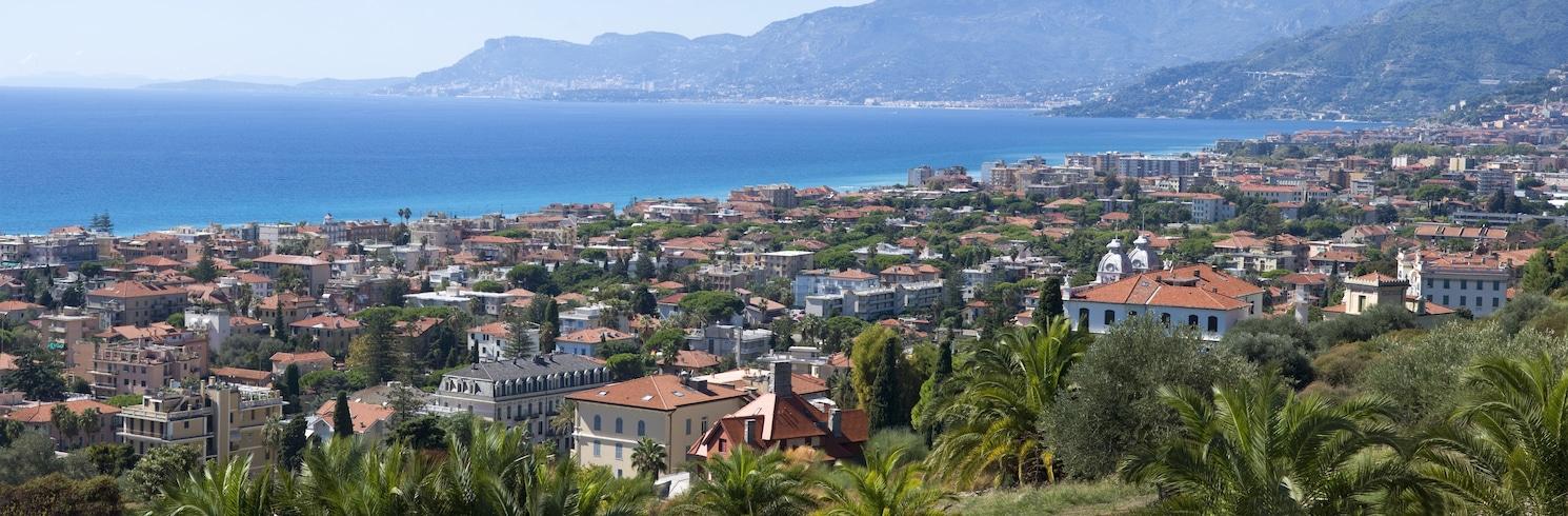 Bordighera, Italien