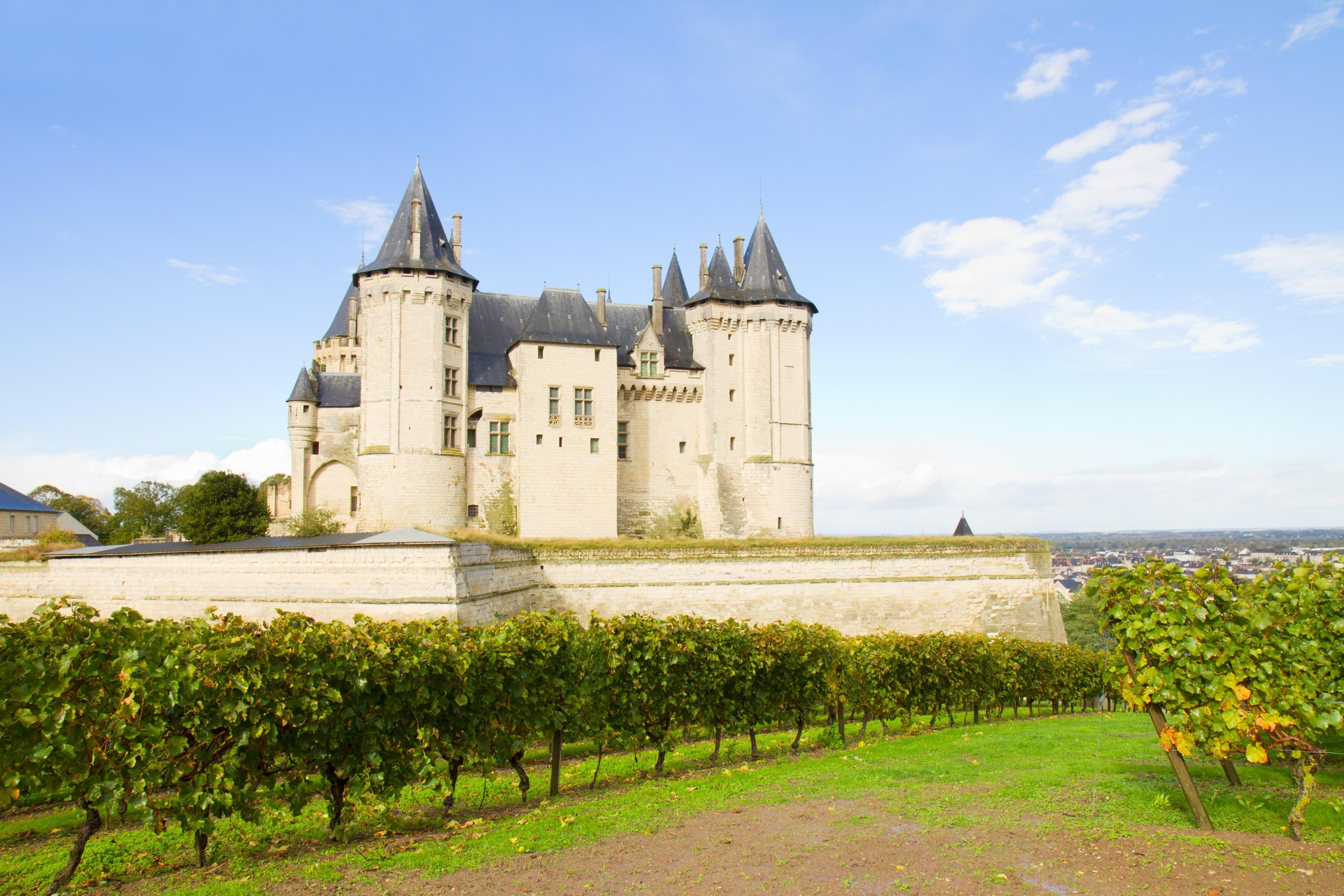 Chateau de Saumur, Saumur, Maine-et-Loire, France