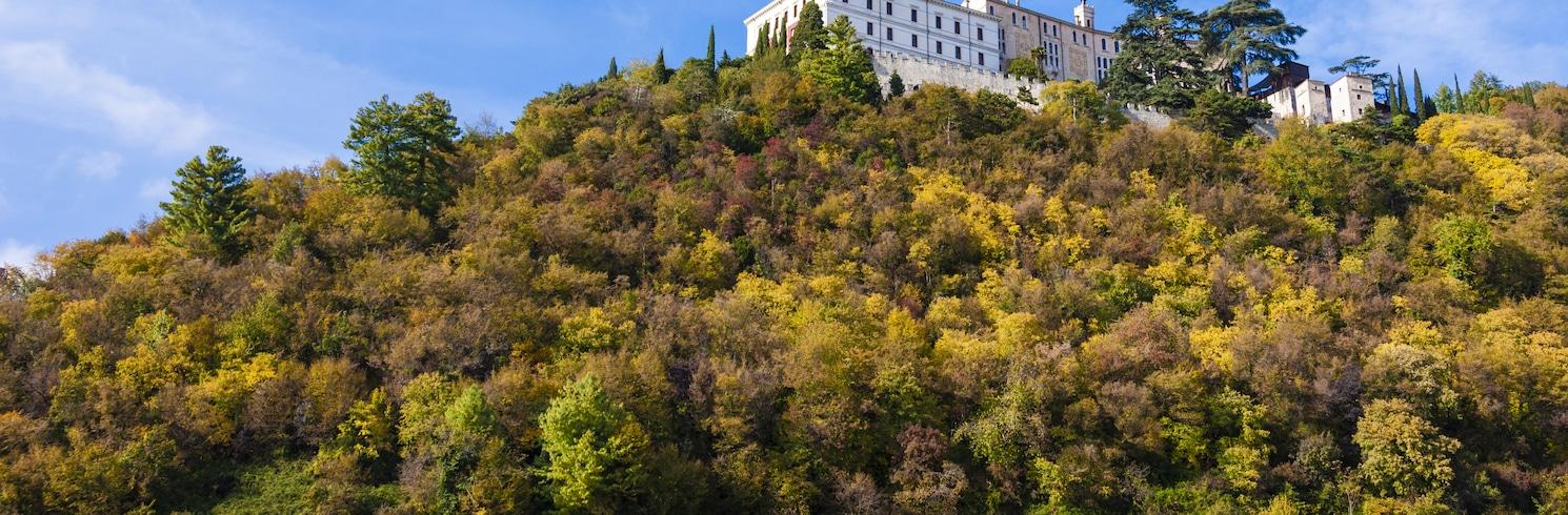 Valdobbiadene Prosecco vynuogyno zona, Italija
