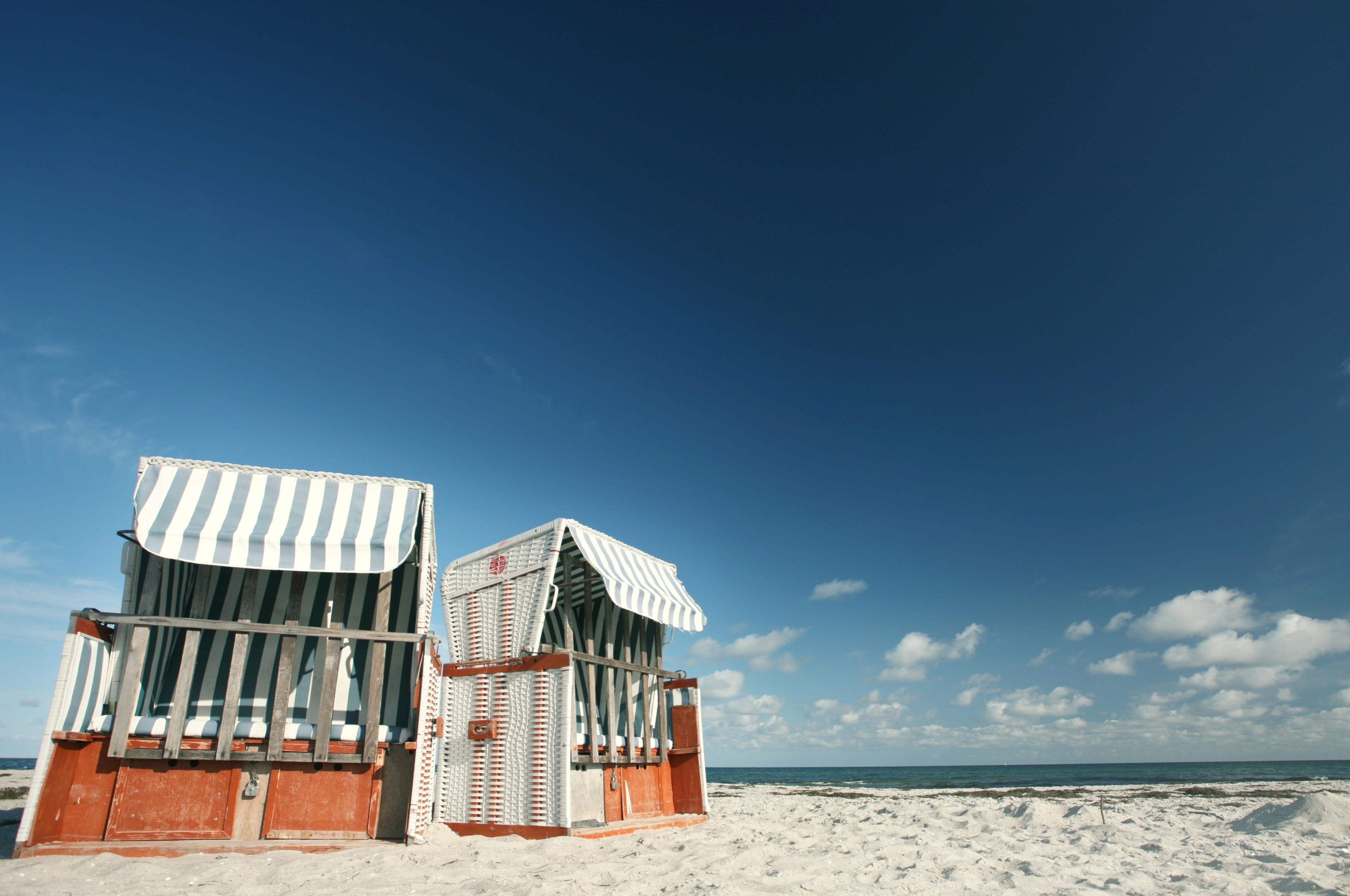 Strand von Prerow, Ostseebad Prerow, Mecklenburg-Vorpommern, Deutschland