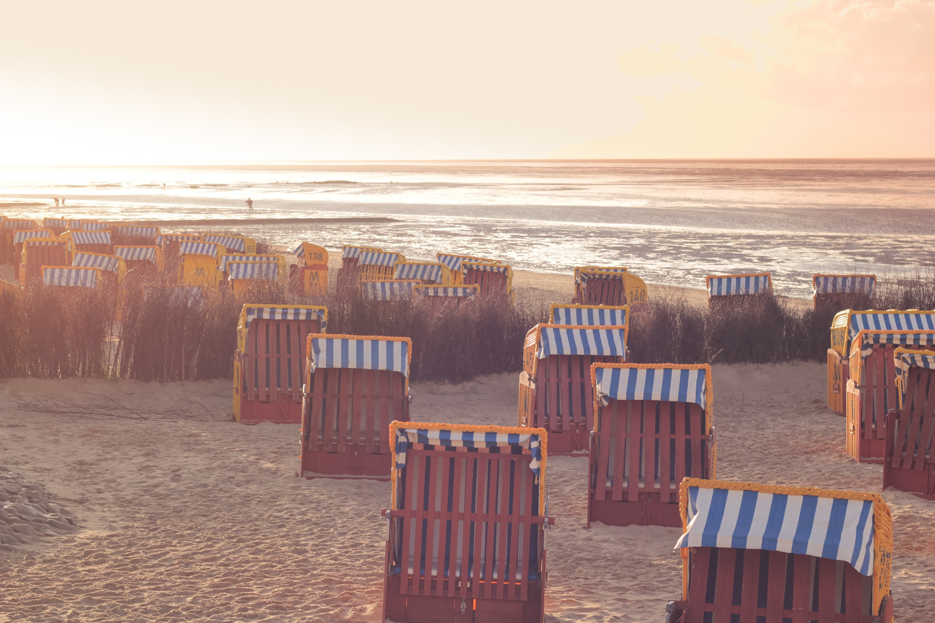 Duhnen, Cuxhaven, Niedersachsen, Tyskland