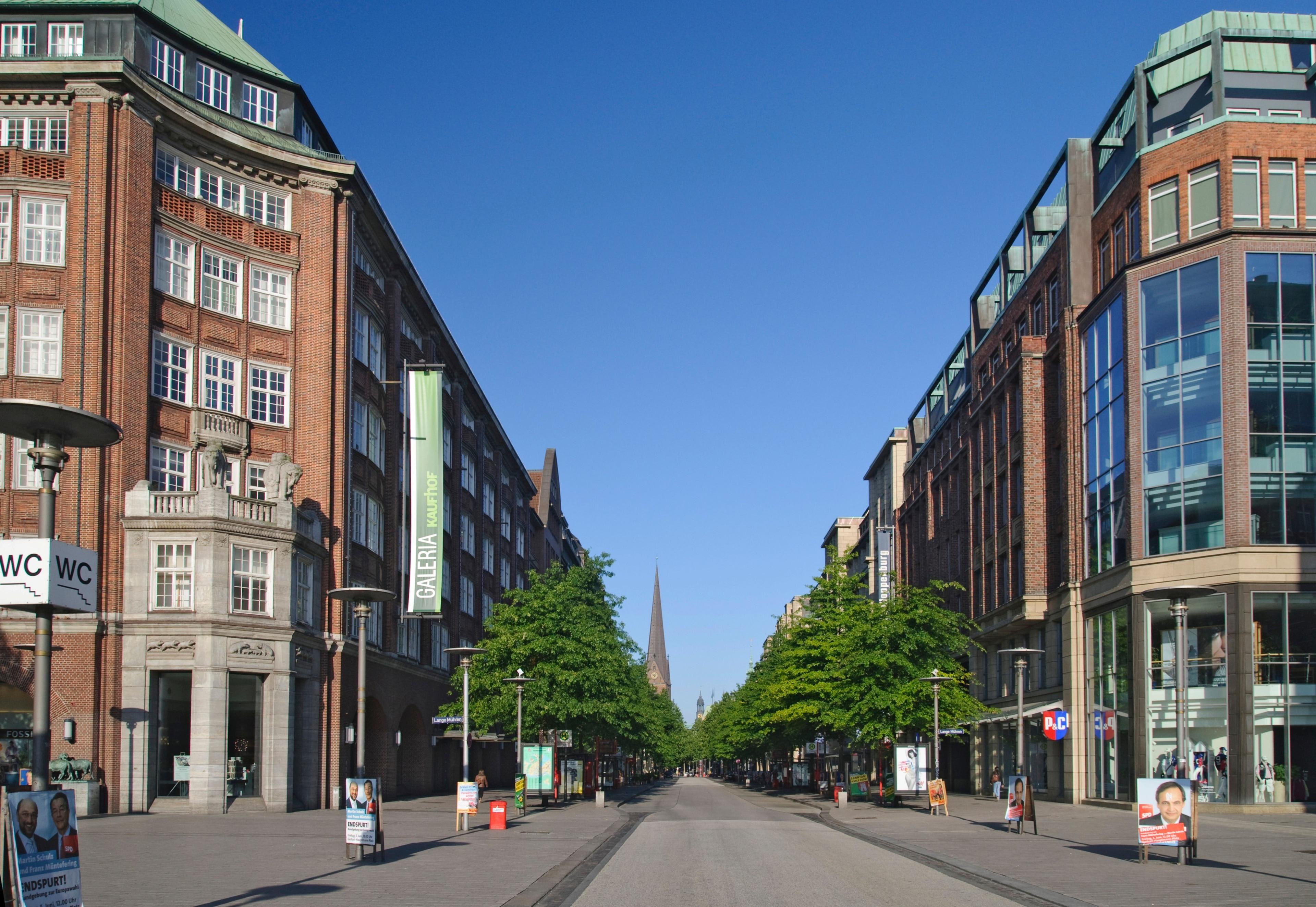 Mönckebergstraße, Hamburg, Deutschland
