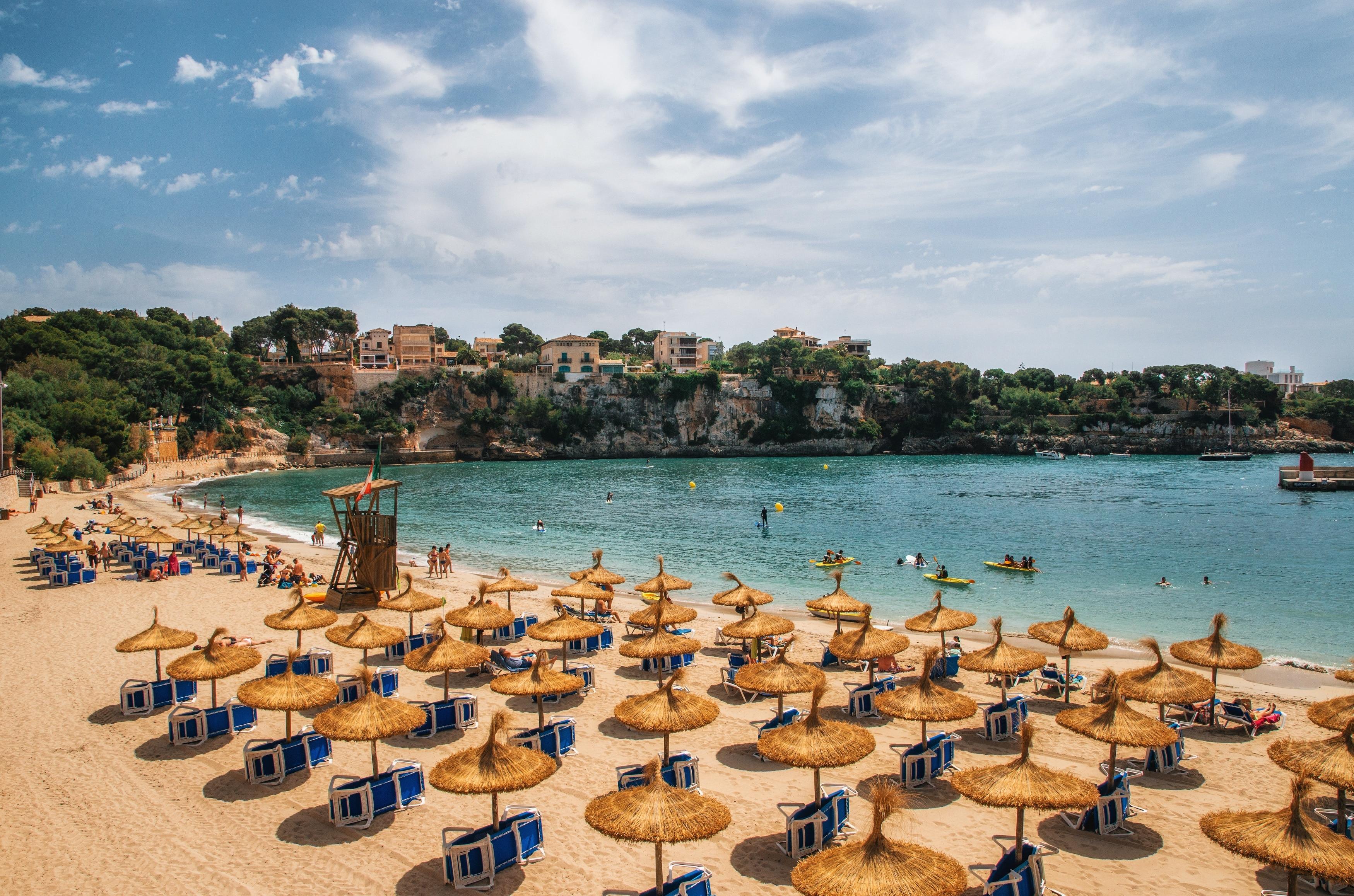 Playa de Porto Cristo, Manacor, Balearic Islands, Spain