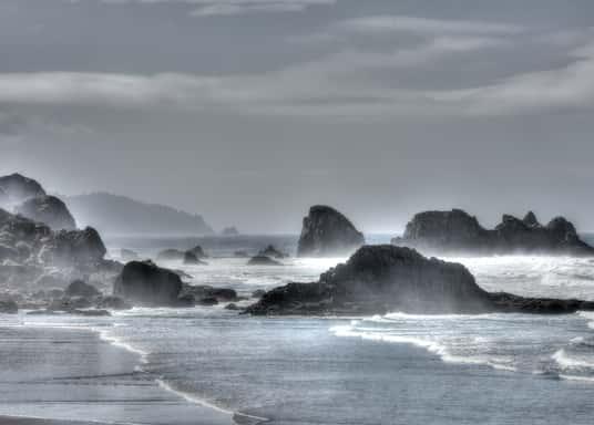 Oregon Coast, โอเรกอน, สหรัฐอเมริกา