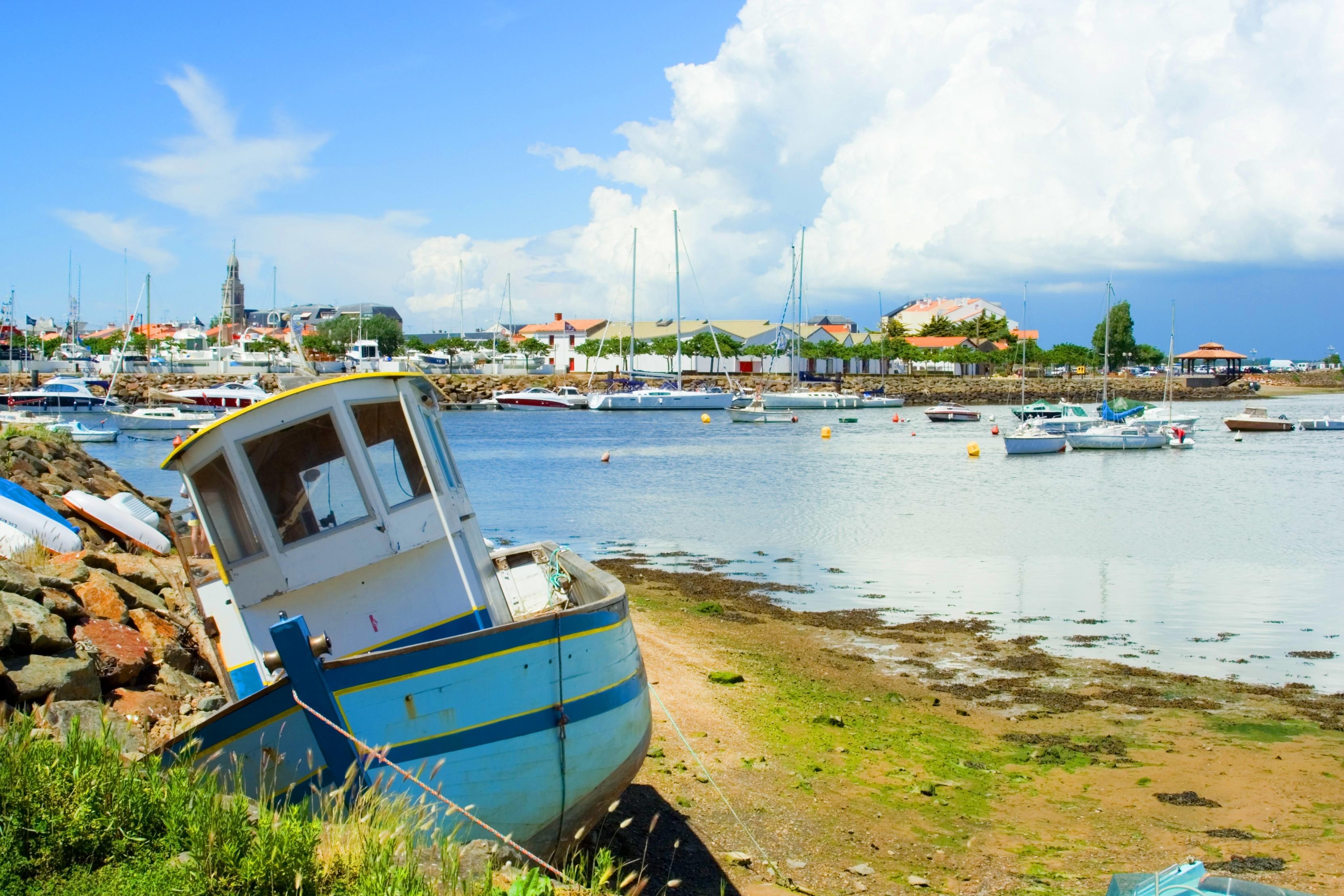 Pays de Saint-Gilles-Croix-de-Vie, Vendee, France