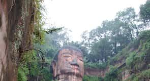 Velký Buddha v Leshan