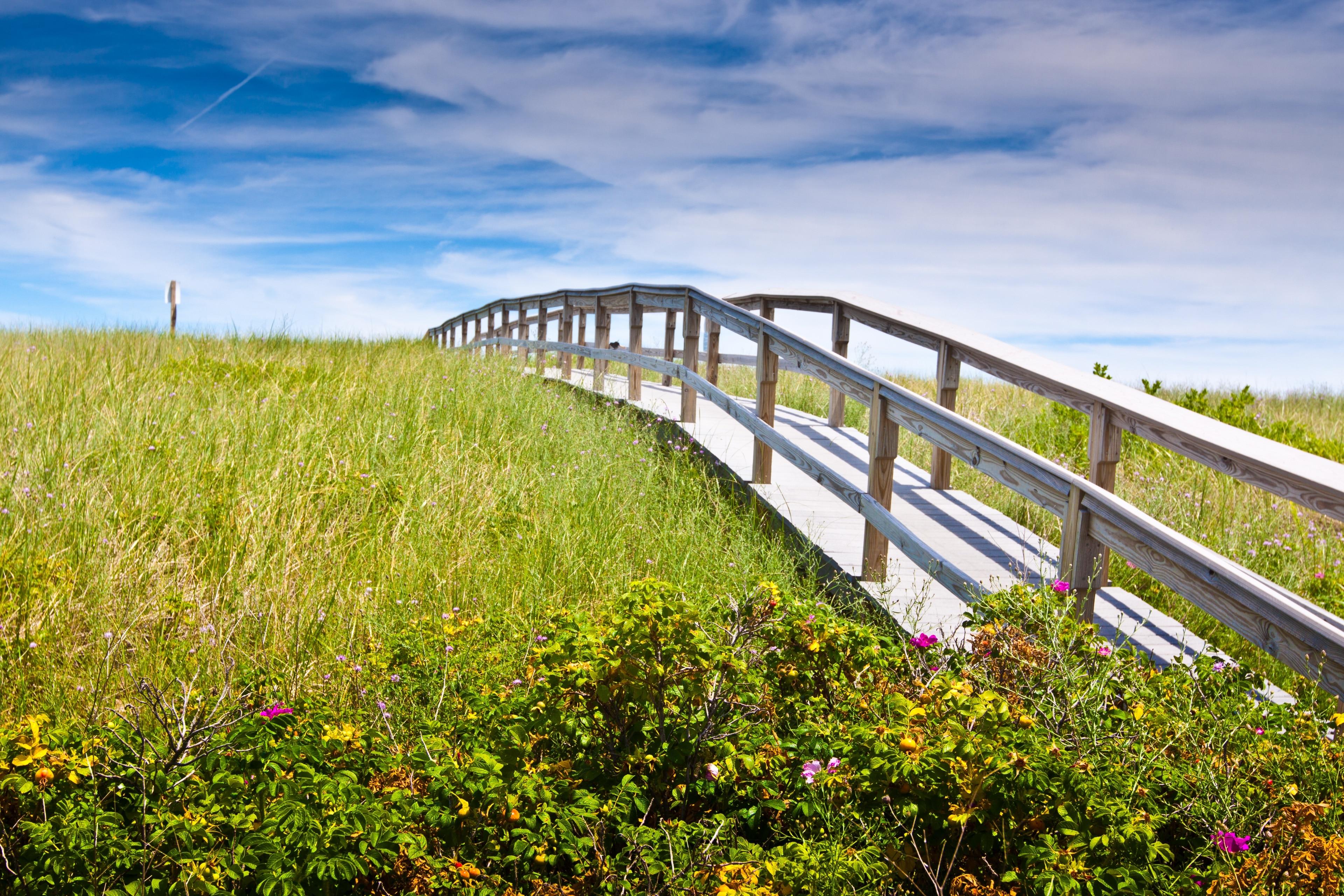 Sandwich Boardwalk, Sandwich, Massachusetts, USA