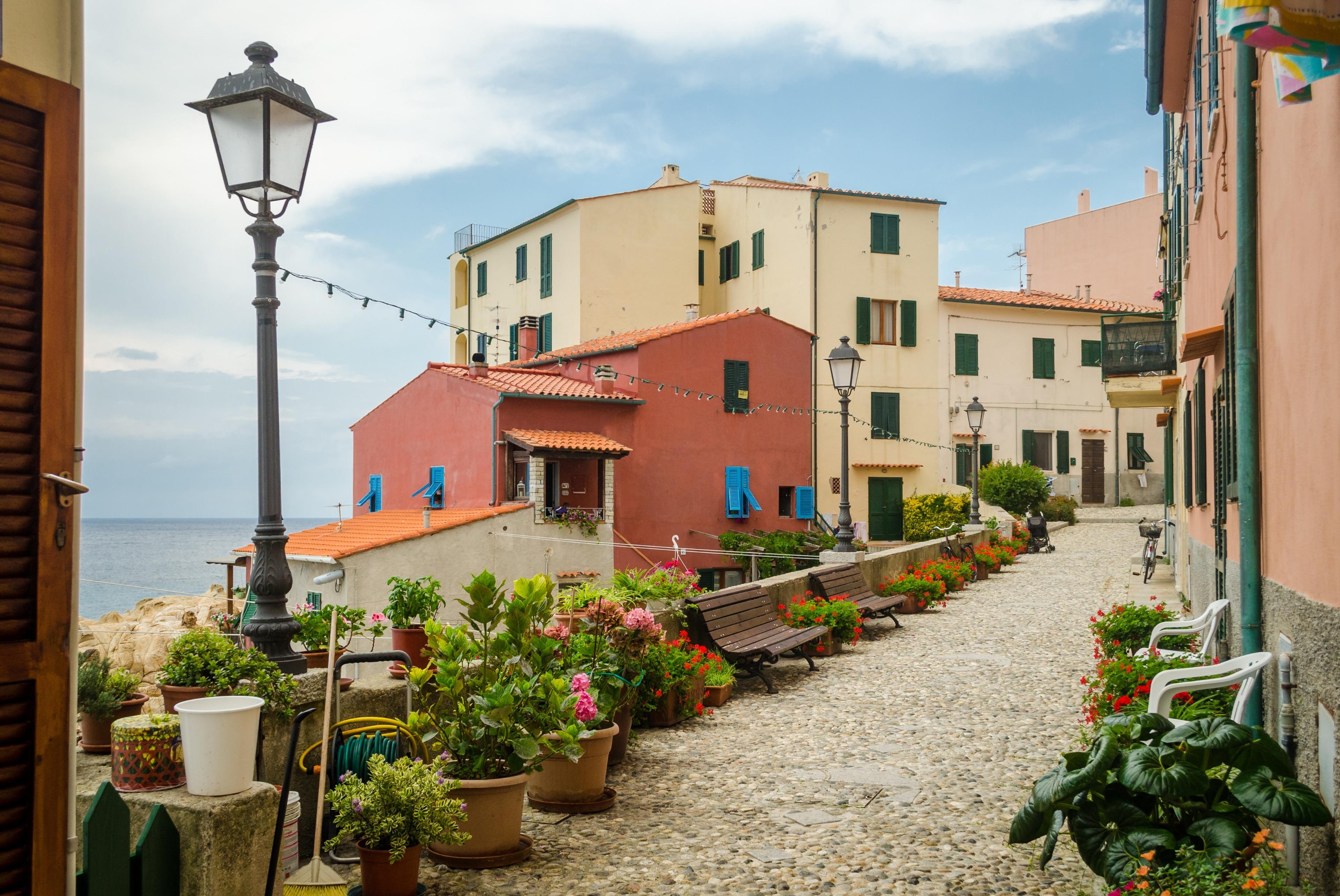 Marciana Marina, Toskana, Italien