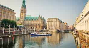 Pusat Kota Hamburg
