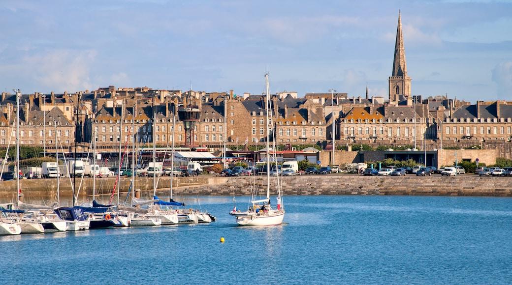 Hafen von Saint-Malo