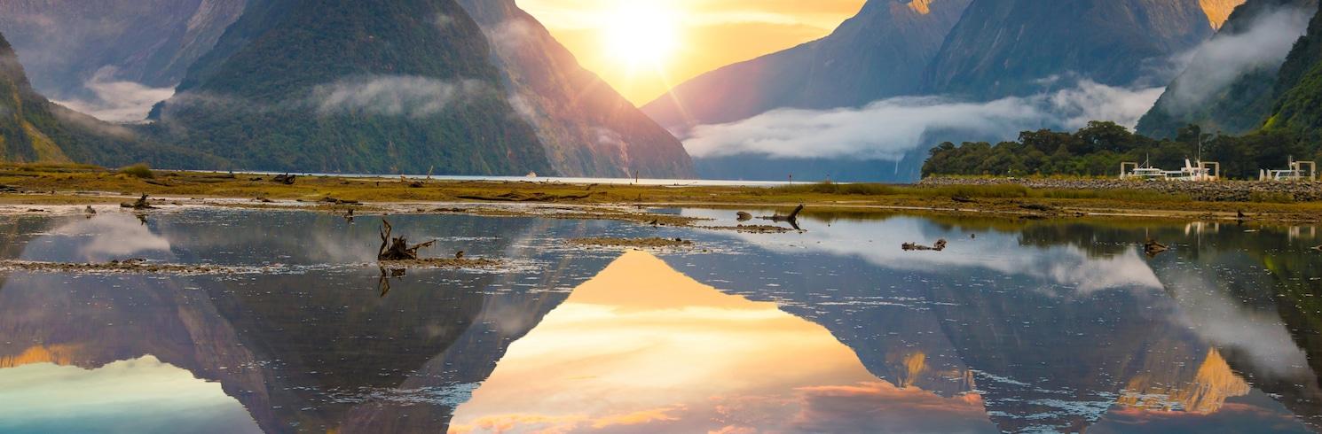 Národný park Fiordland (a okolie), Nový Zéland