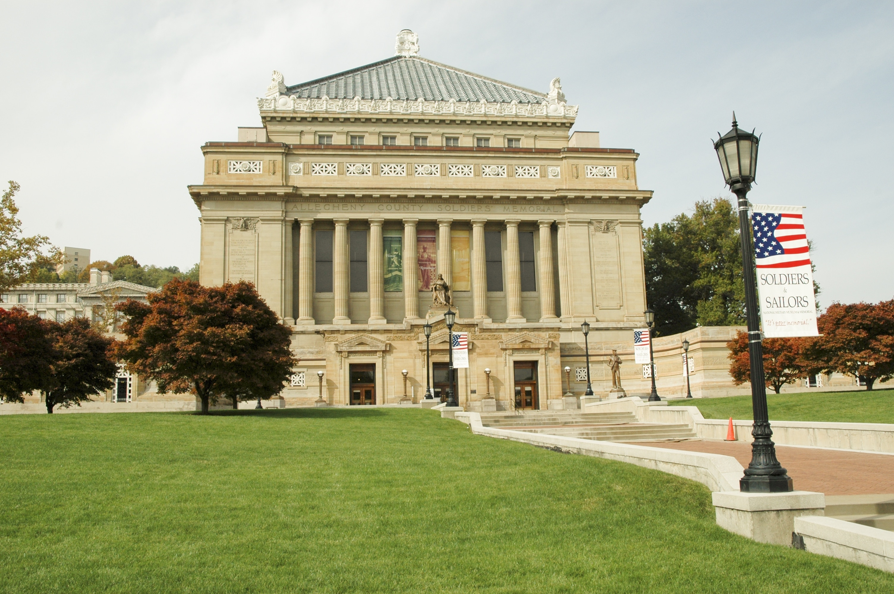 Soldiers and Sailors Memorial Hall and Museum, Pittsburgh, Pennsylvania, United States of America
