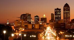 Des Moines belvárosa