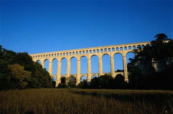 Roquefavour Aqueduct, Ventabren, Bouches-du-Rhone, France