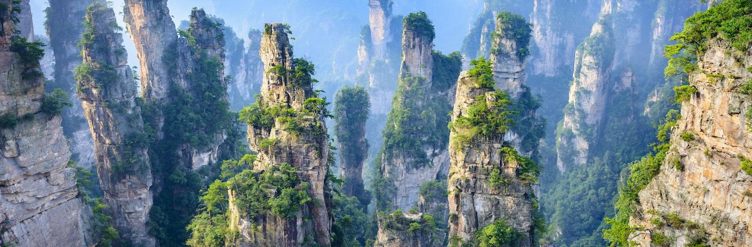 Zhangjiajie, Kína