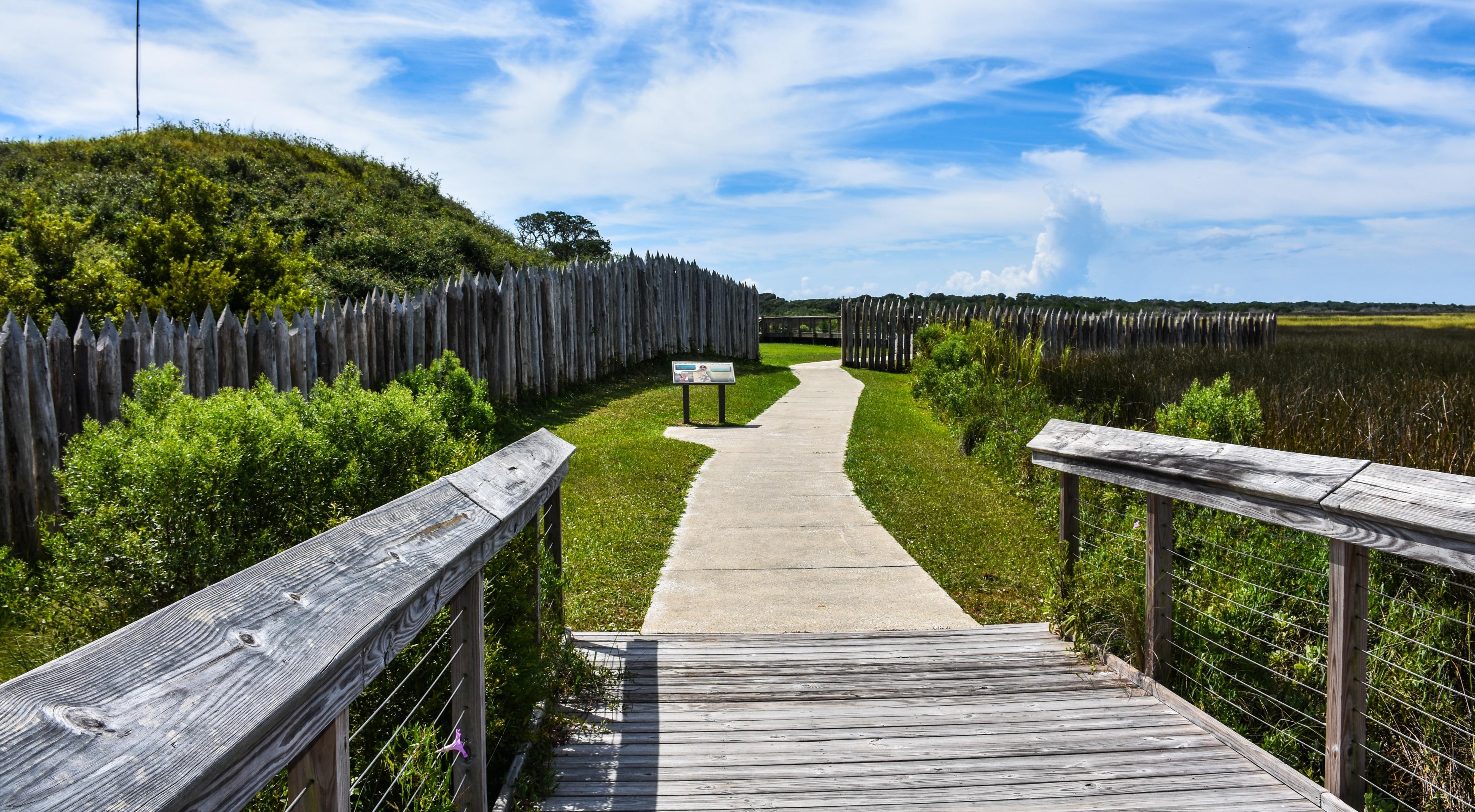Fort Fisher State Recreation Area, Kure Beach, North Carolina, United States of America