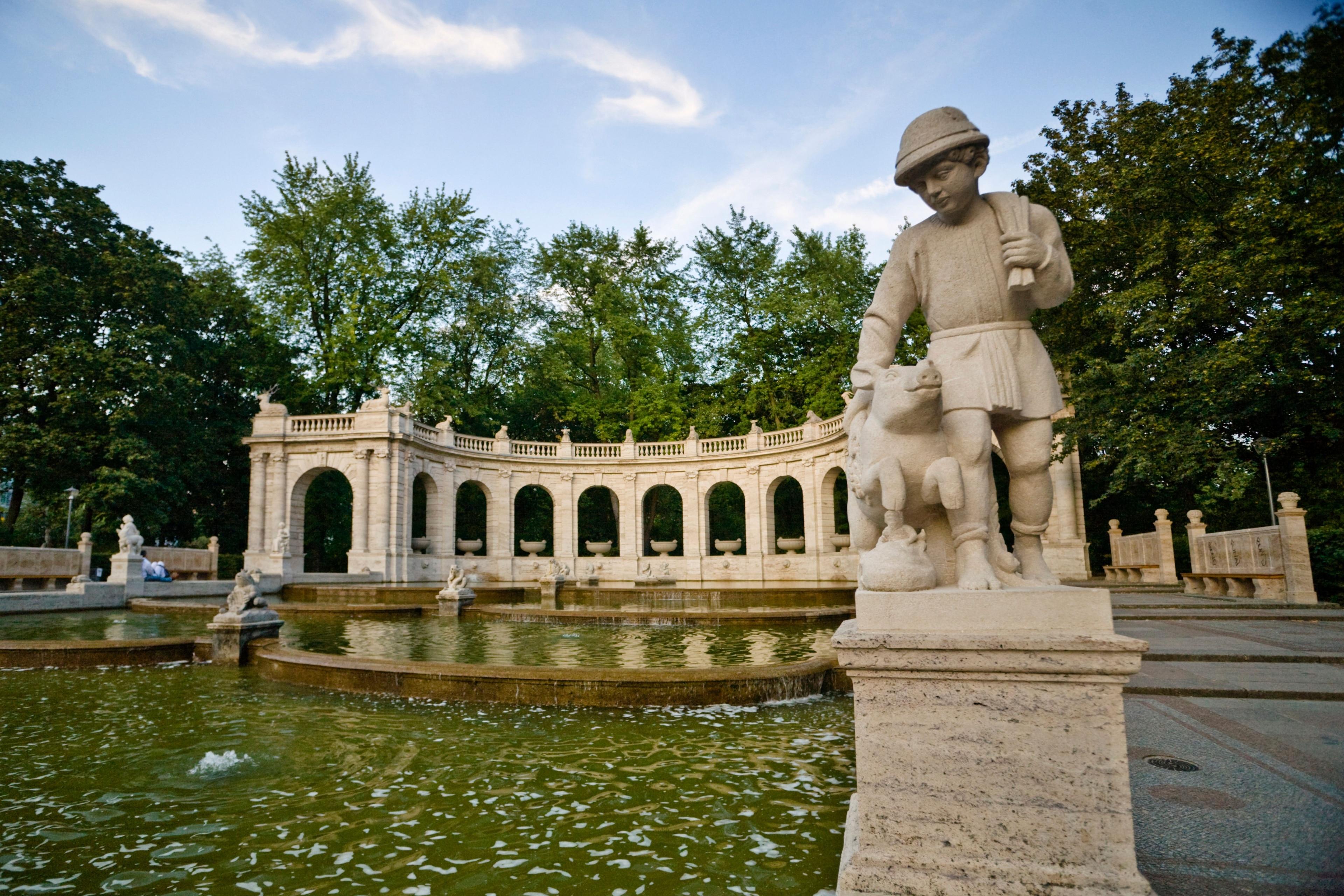 Volkspark Friedrichshain, Berlin, Deutschland