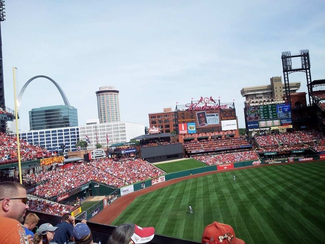 Catch an event at Busch Stadium during your trip to St. Louis. Experience the area's great live music or attend a baseball game.