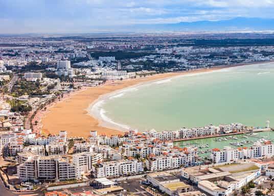 ساحل المحيط الأطلسي الجنوبي, المغرب