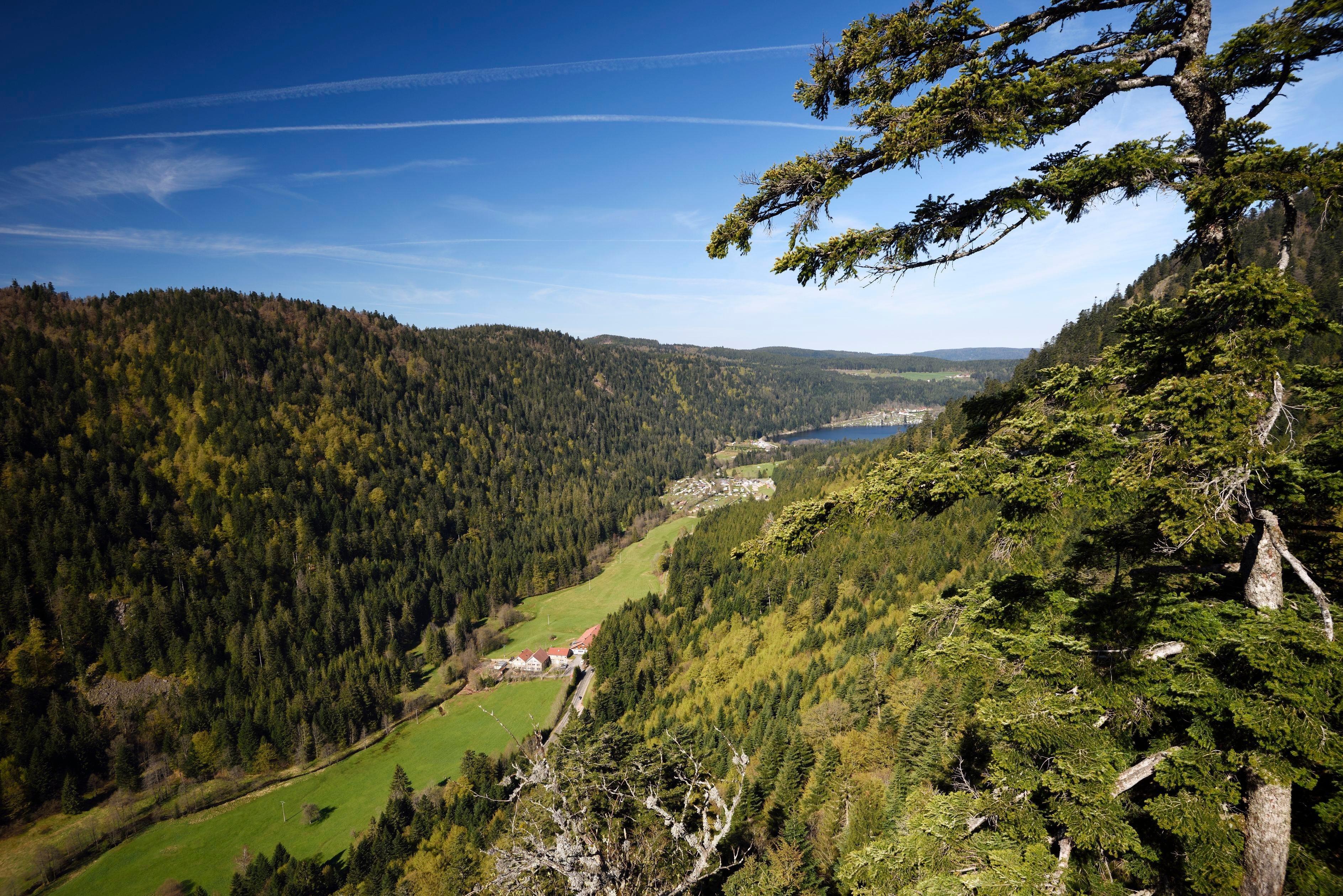 Xonrupt-Longemer, Vosges Département, Frankreich