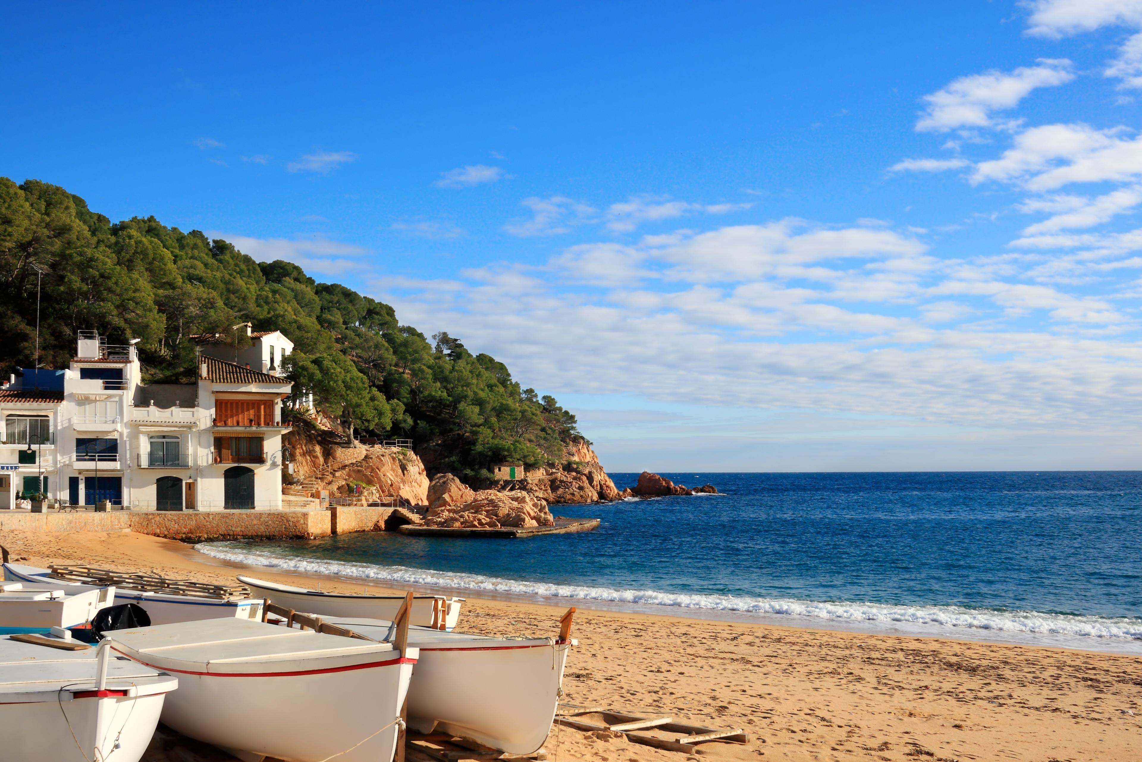 Tamariu, Palafrugell, Katalonien, Spanien