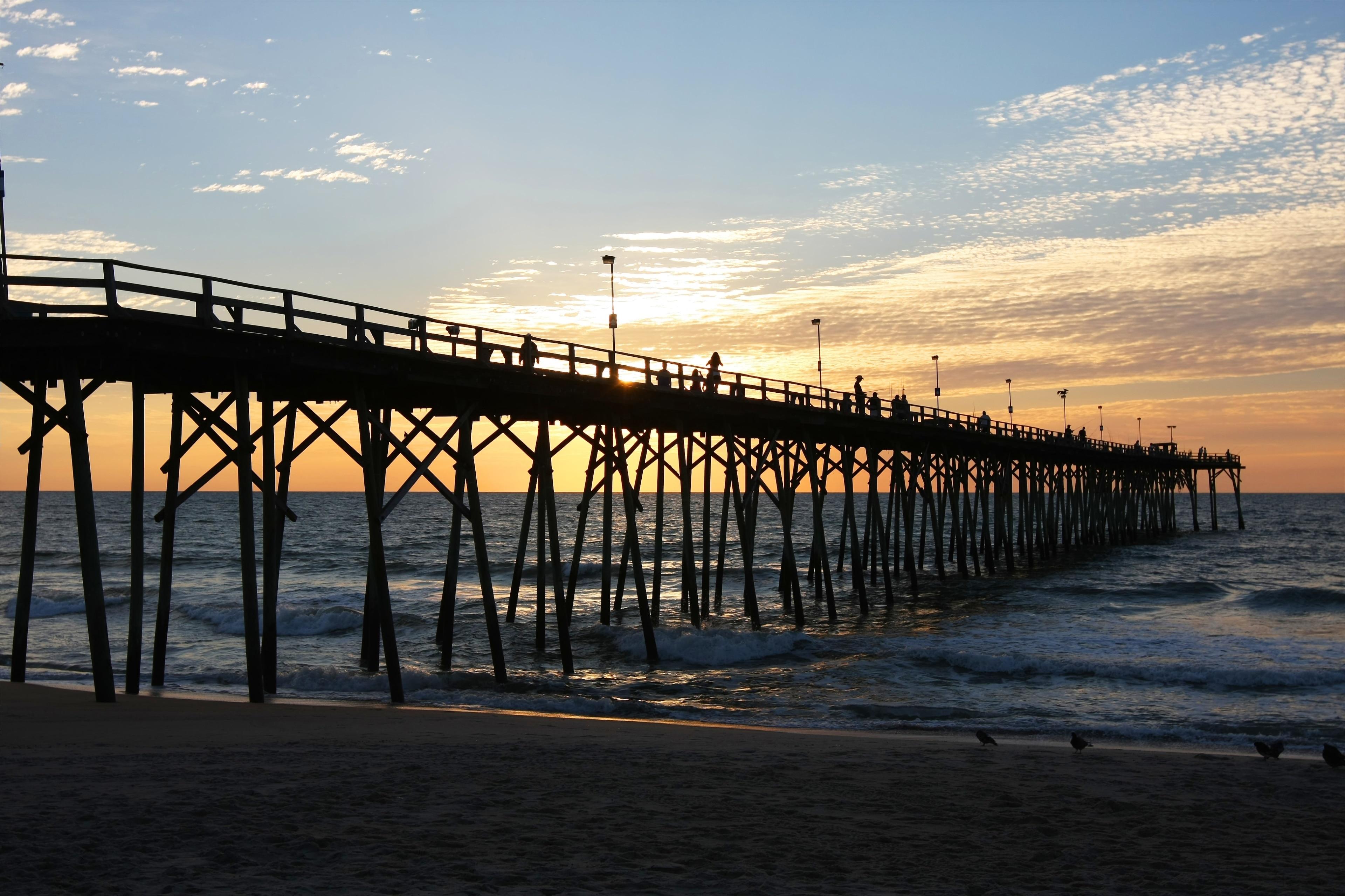 Kure Beach Pier, Kure Beach, North Carolina, United States of America