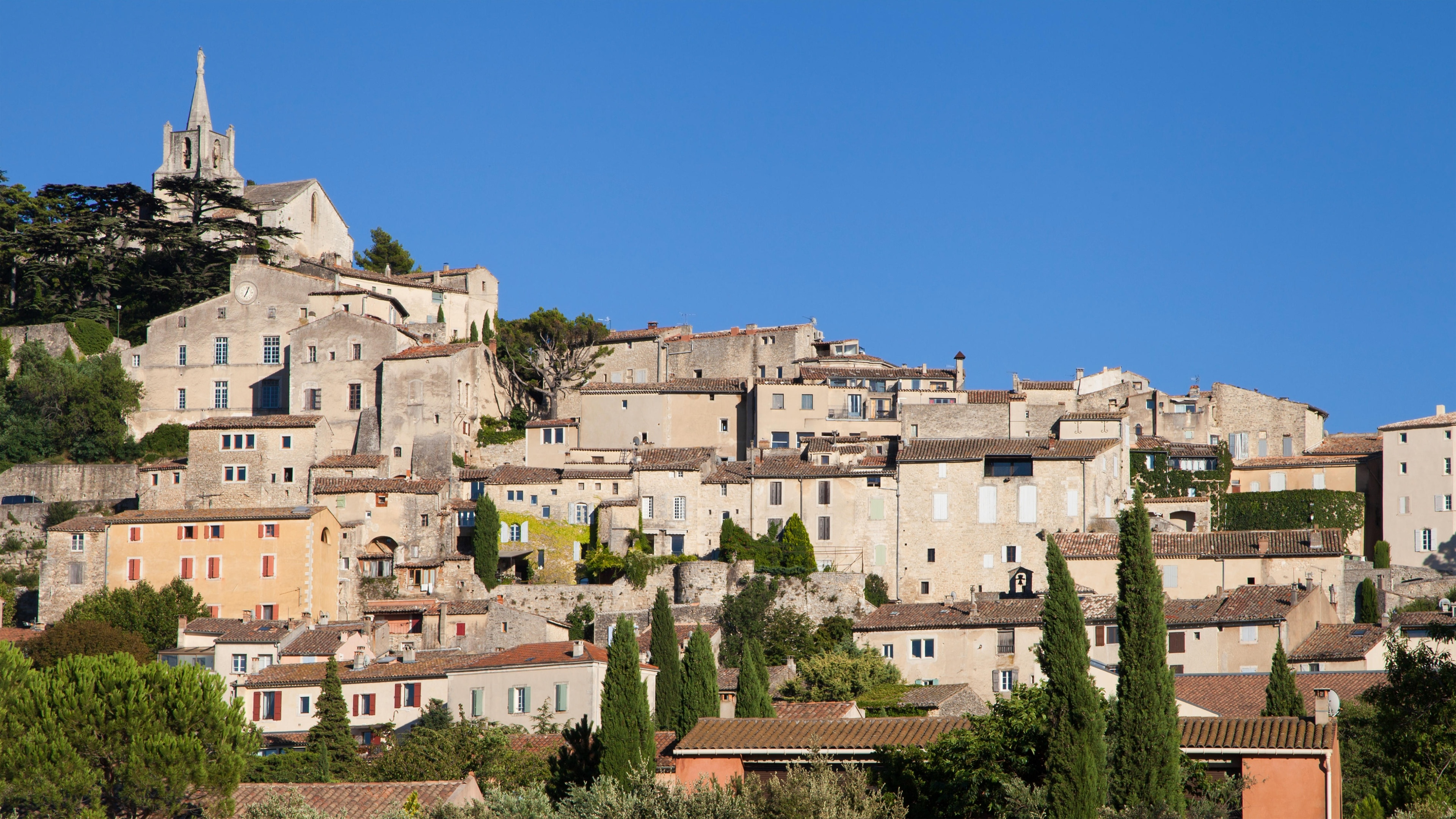 Bonnieux, Département Vaucluse, Frankreich