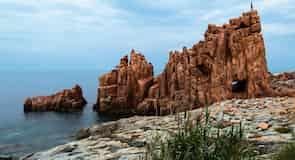 Rocce Rosse Beach