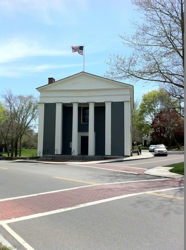 Sandwich Town Hall, Sandwich, Massachusetts, United States of America