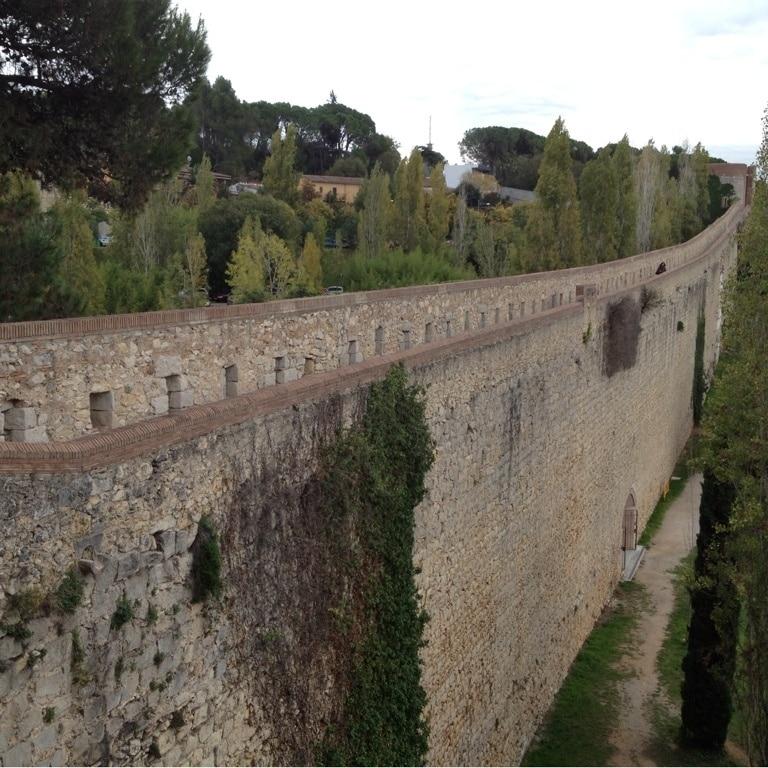 Muralla de Girona, Girona, Cataluña, España