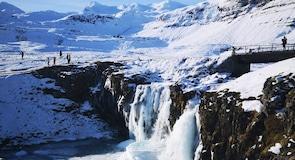 Водопад Киркьюфелльсфосс