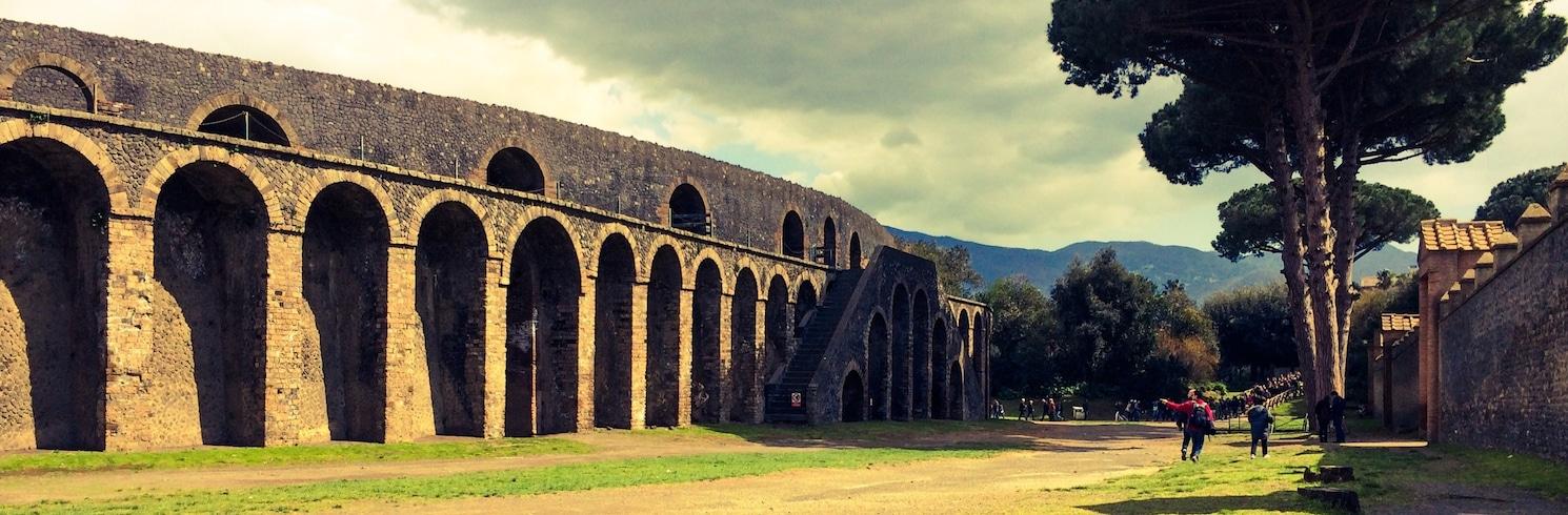 維蘇威火山 — 龐貝 (地區), 義大利