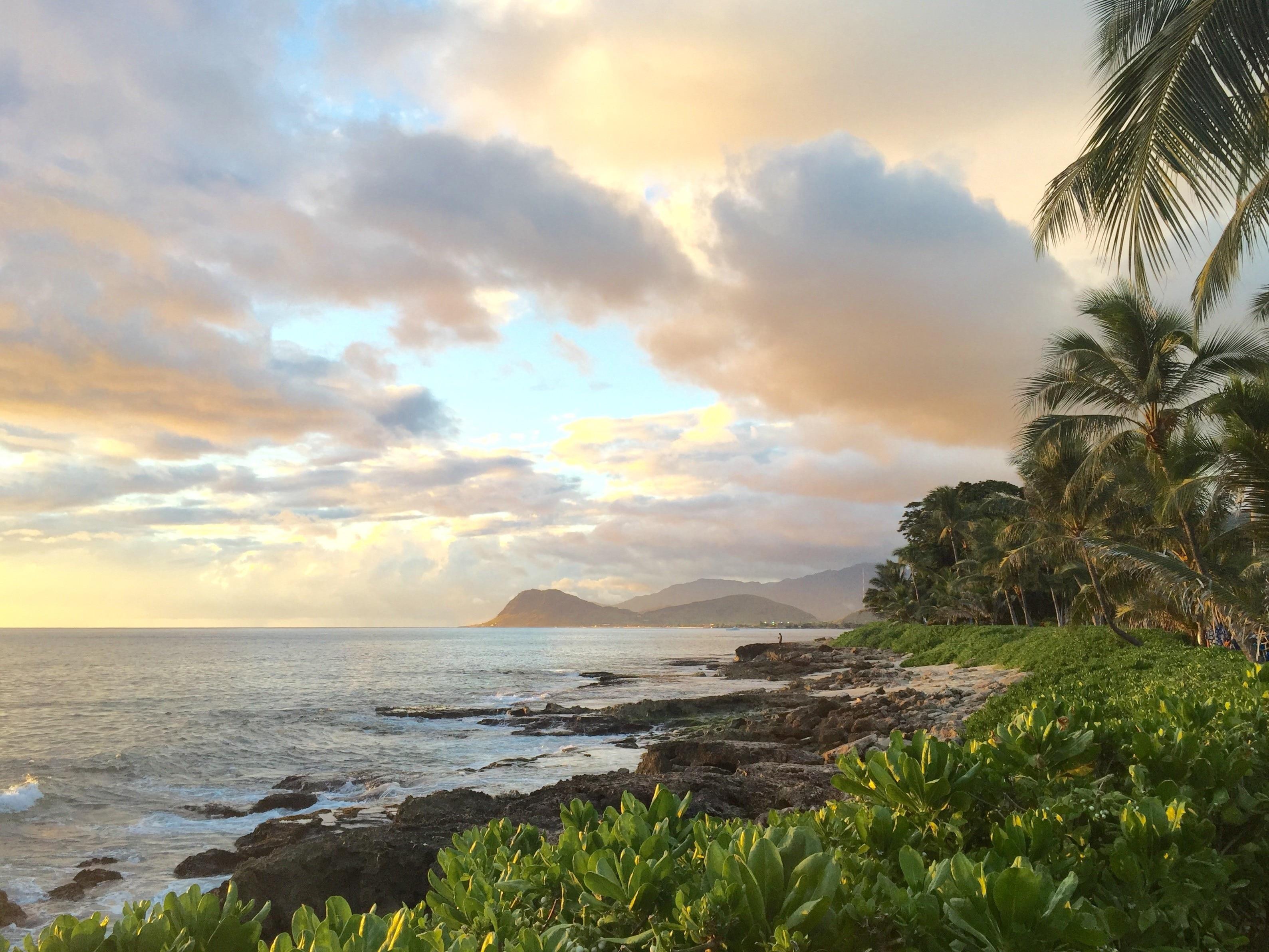 Paradise Cove Beach, Kapolei, Hawaii, USA