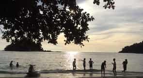 Teluk Nipah strand