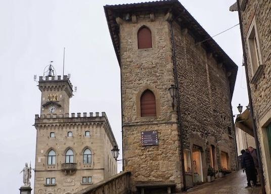 Santarcangelo di Romagna, Italien