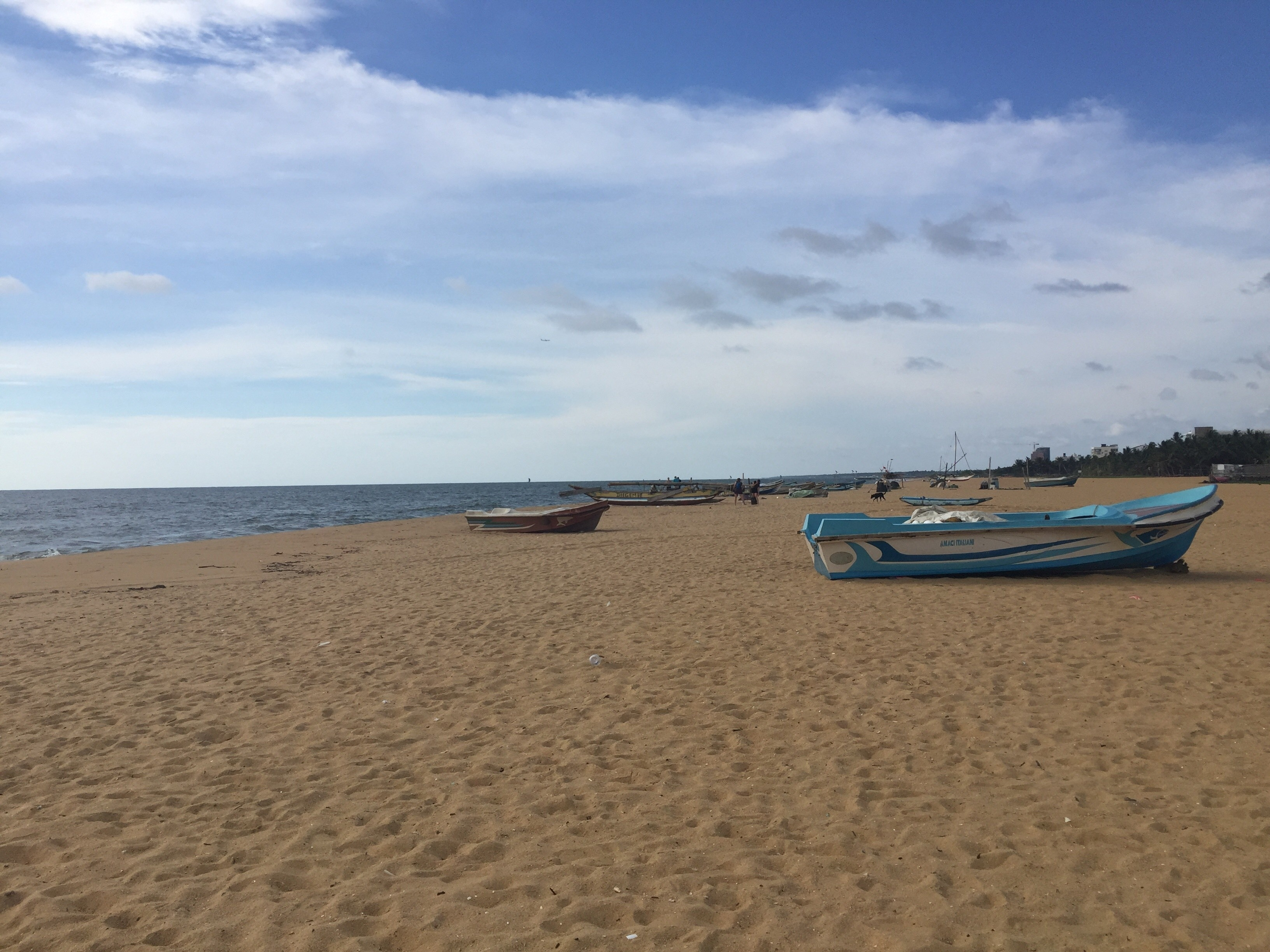 Strand van Negombo, Negombo, Western Province, Sri Lanka