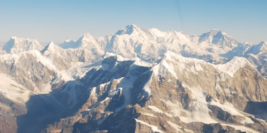 Mt Everest a view from the sky