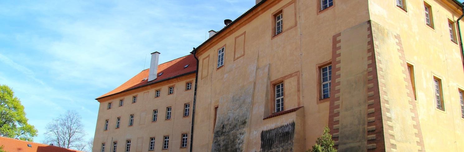 Podebrady, Tšehhi Vabariik