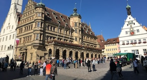 Rothenburg bymurer