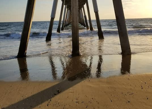 Hermosa Beach, Californien, USA