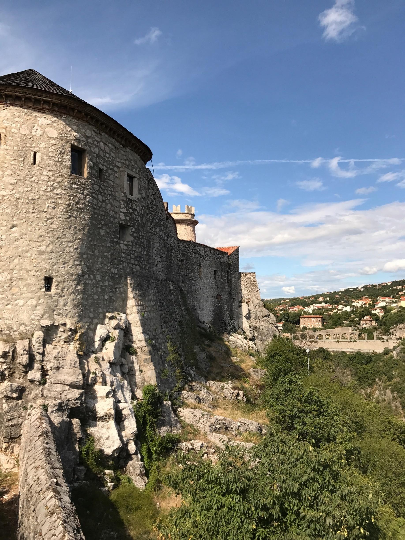 Trsat Castle, Rijeka, Primorje-Gorski Kotar, Croatia