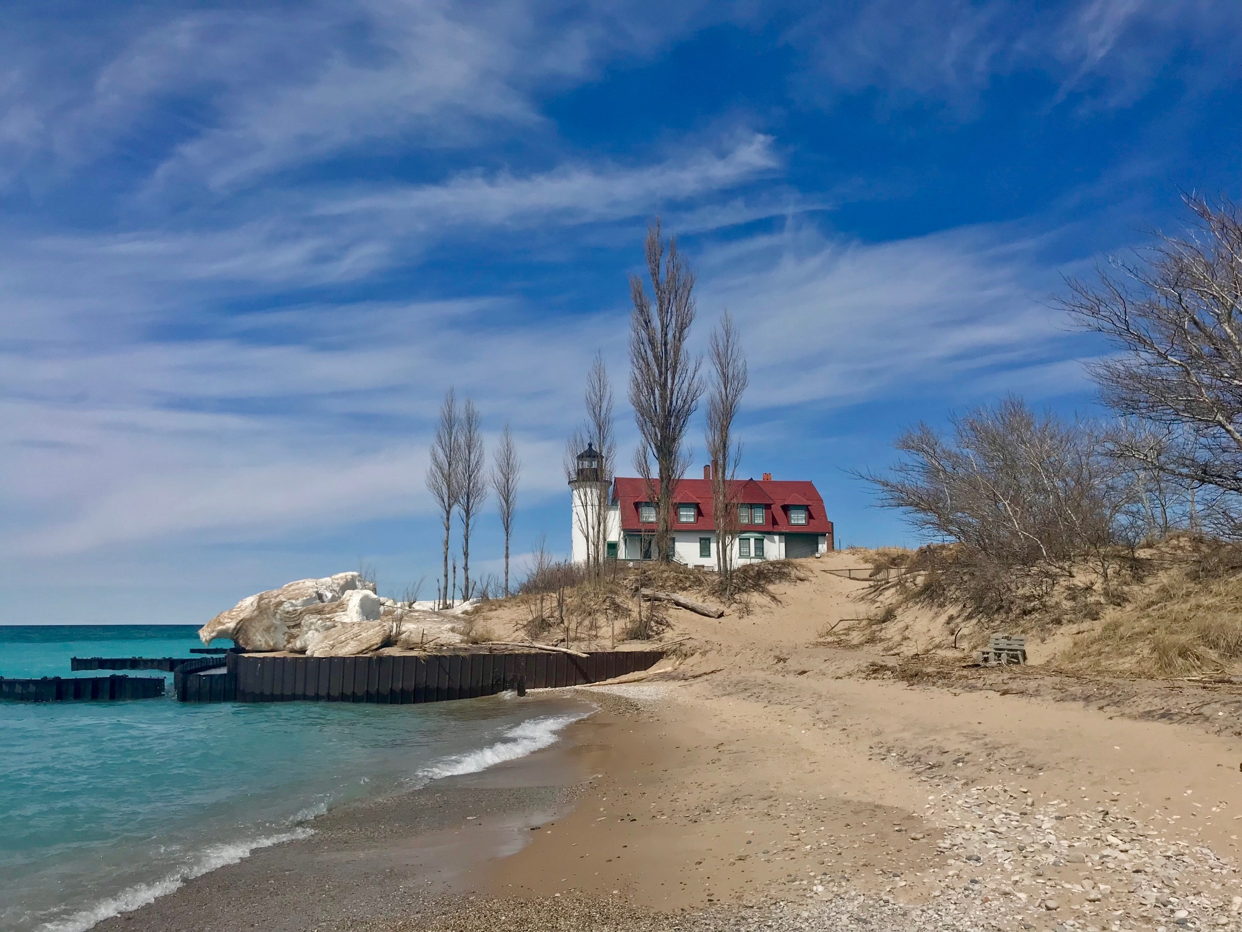 Point Betsie Lighthouse, Frankfort, Michigan, United States of America