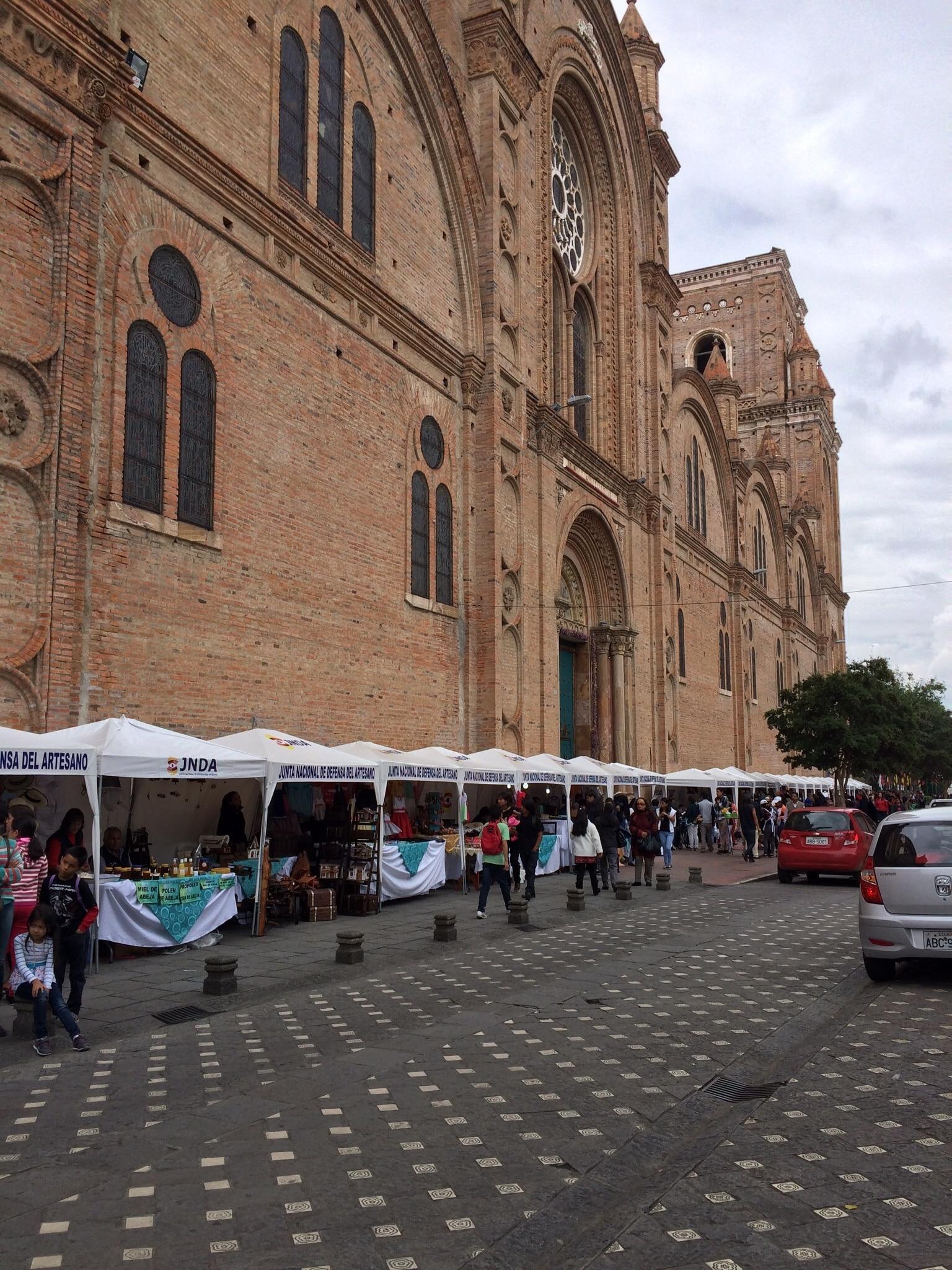 Plaza Rotary Market, Cuenca, Azuay, Ecuador