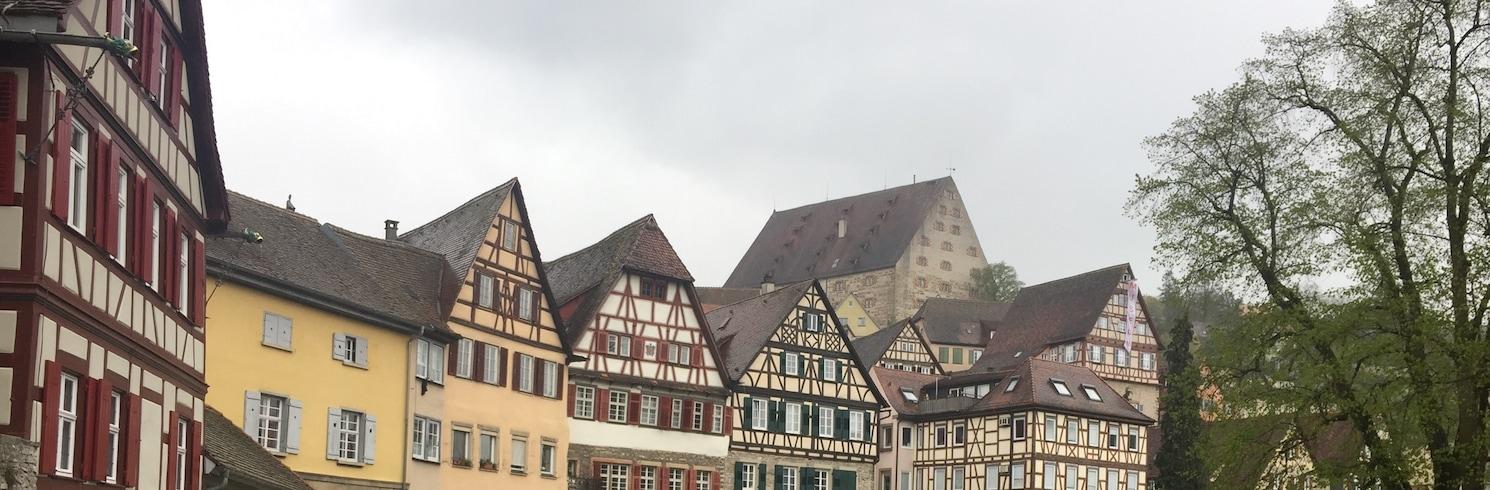 シュウェービッシュ ハル, ドイツ