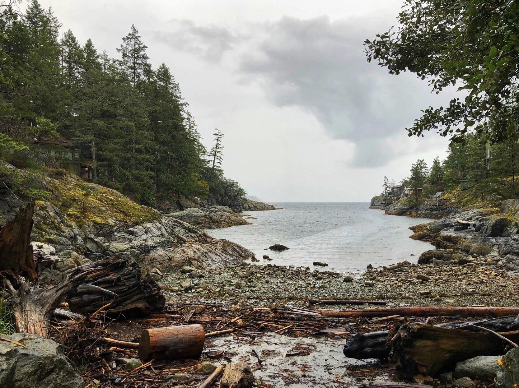 Smuggler Cove Marine Provincial Park, Halfmoon Bay, British Columbia, Canada
